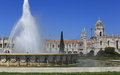 Monastery And Fountain Royalty Free Stock Image - 42528776