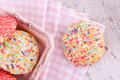 Sugar Sprinkles Cookies Stock Images - 42531554