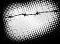Barb Wire Background Stock Photos - 42533433