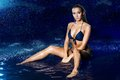 Sexy Beautiful Girl In The Water. Royalty Free Stock Photography - 42536597