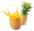 Pineapple Juice Stock Photos - 42561563