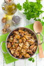Fried Mushrooms Royalty Free Stock Photography - 42565637