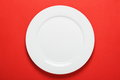 White Dinner Plate Royalty Free Stock Images - 42573679