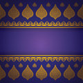 Asian Art Background, Thai Art Pattern Vector. Royalty Free Stock Photography - 42589927