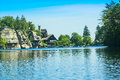 Mohonk Mountain House Royalty Free Stock Image - 42599496