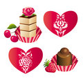 Sweets And Hearts Stock Photos - 4262193