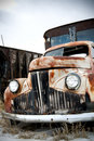 Truck Abandoned Stock Photography - 4264492