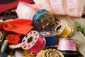 Sewing Items Stock Photography - 4266412