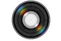 Black Music Record With Colored Rainbow Reflection Light Royalty Free Stock Images - 42613499