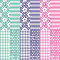Cute Baby Girl And Boy Pattern Collection Stock Images - 42629444