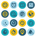 Time Icons Royalty Free Stock Image - 42629586