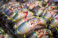 Live Crabs Ready To Be Cooked In A Market Stock Photography - 42646962