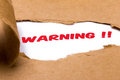 Warning Stock Images - 42664034