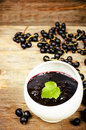 Black Currants Jam Royalty Free Stock Photography - 42665657