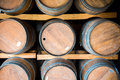 Wine Barrels Royalty Free Stock Photography - 42671347