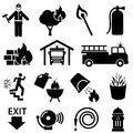 Fire Safety Icons Stock Photo - 42687010