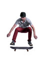 Skateboarder Jumping High Royalty Free Stock Photography - 42692777