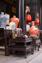 A Very Famous Market Of Antique Of Beijing Stock Image - 4271341