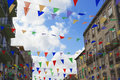 Colourful Flags Stock Image - 42708421