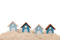 Beach Houses Stock Photo - 42721330