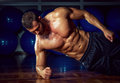 Side Plank Exercise Royalty Free Stock Photography - 42728497