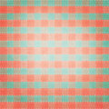 Retro Brightly Colored Plaid Textile Fabric Royalty Free Stock Photo - 42741475