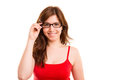 Woman Wearing Glasses Stock Photography - 42771382