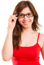 Woman Wearing Glasses Royalty Free Stock Photography - 42771427