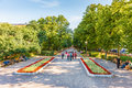 Gogolevsky Boulevard In The Summer Evening Royalty Free Stock Image - 42779946