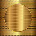 Gold Circle Stock Photos - 42796533