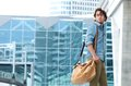 Portrait Of A Trendy Young Man Walking Royalty Free Stock Image - 42797446