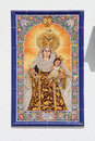 Mosaic Of The Virgin Mary Stock Photography - 42798642