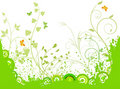 Floral  Artistic Vector Background Royalty Free Stock Photo - 4281475