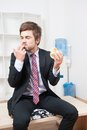 Man Having A Snack Stock Photography - 42806812