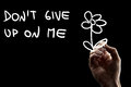 Don T Give Up On Me Stock Photos - 42816063
