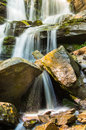Mountain Stream On The Rocks. Royalty Free Stock Images - 42828169