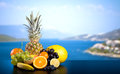 Assortment Of Exotic Fruits Royalty Free Stock Images - 42829169