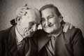 Cute 80 Plus Year Old Married Couple Posing For A  Royalty Free Stock Photo - 42831745
