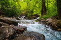 Hanging Lake Stream In Colorado Stock Images - 42865304