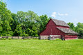 Old Red Barn On A Farm Royalty Free Stock Photo - 42865595