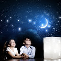 Night Dreaming Royalty Free Stock Photos - 42874278