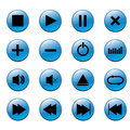 Media Player Buttons Stock Image - 42893641