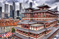 Buddha Tooth Relic Temple Stock Photography - 4296662