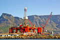 Oil Rig In The Ocean Bay Royalty Free Stock Photography - 4298597