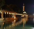 Reflections Of Halil Rahman Cami On  The Pool Of Abraham Royalty Free Stock Images - 42903339