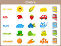 Learning The Object Colors For Kids Royalty Free Stock Photos - 42909468