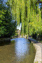 The River Windrush In Bourton-on-the-Water Royalty Free Stock Photography - 42914867