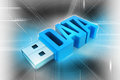 Usb Flash Drive Stock Image - 42921861