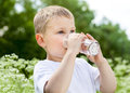 Child Drinking Pure Water Stock Images - 42925714