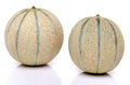 Two Fresh Melons Royalty Free Stock Photo - 42927495
